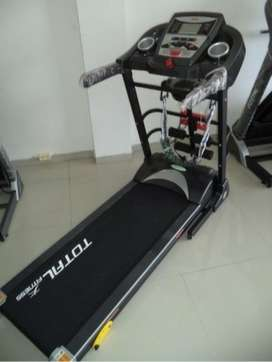 Treadmill electric TL860 Manual Incline Dijamin murah asli gym