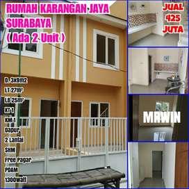 Dijual rumah 2 lantai Surabaya