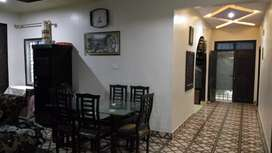 Super Luxury well furnished corner flat for sale