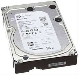 8TB Hard disk for sale.