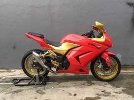 Ninja 250 Carbu 2012 Istimewa Orisinilan Standar Ting Ting Mantap