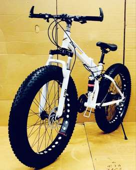 Fat Tyre Foldable Cycle with dual suspension available in Kolkata