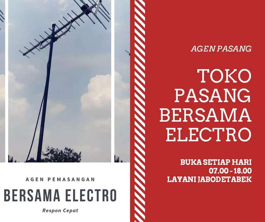 Menerima pasang signal antena tv lokal terdekat pasar rebo