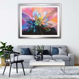 Lotus original canvas painting