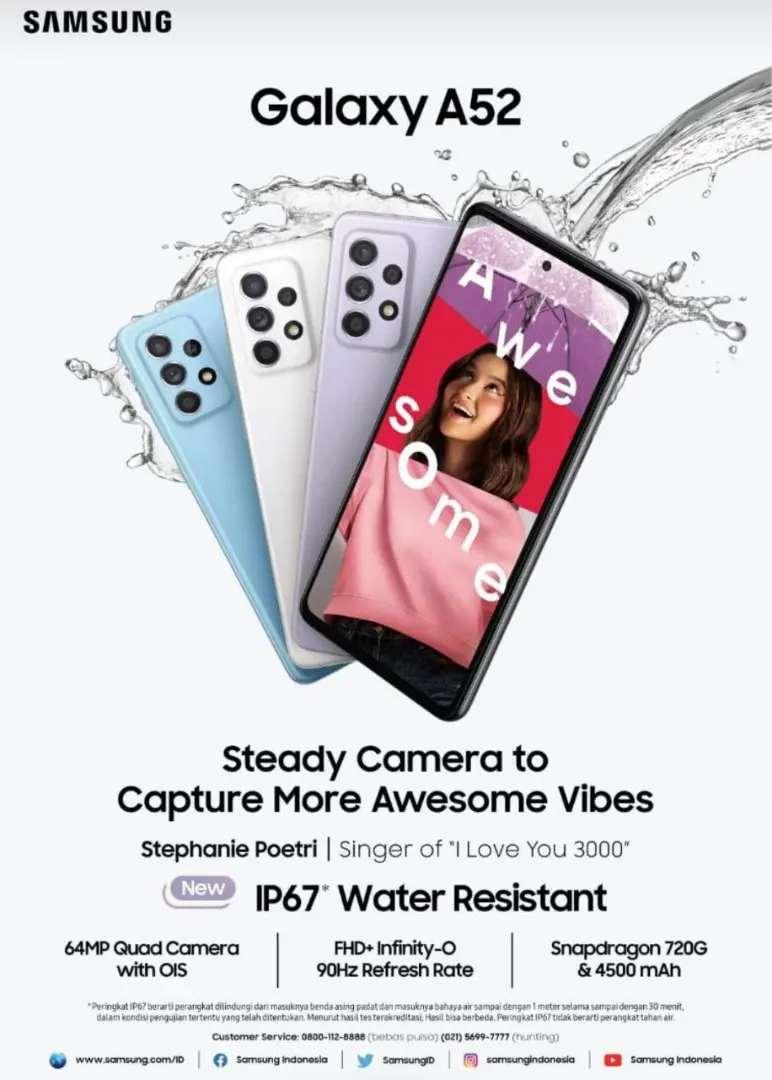 Kredit Samsung Galaxy A52 Tanpa Kartu Kredit