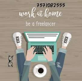 Tele calling work & AD posting work at home based