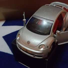 Diecast VW beetle new merk kins marrt skala 1:32