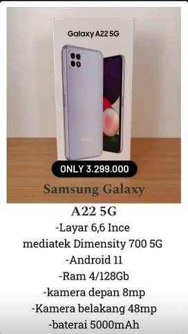 Samsung A22 5G Harga Murah Cicilan Ringan