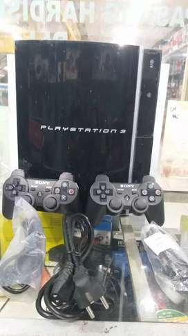 Ps3 fat hdd 120gb full shet, full game