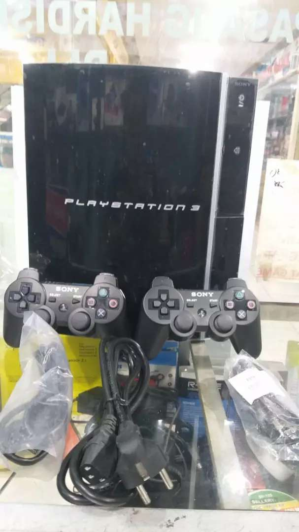 Ps3 fat hdd 120gb full shet, full game 0