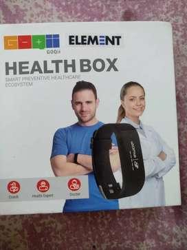 GOQii health box fitness band
