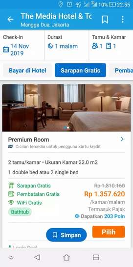 Voucher hotel The Media Hotel & Towers Jakarta