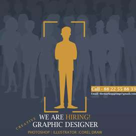 We are looking creative Graphic Designer