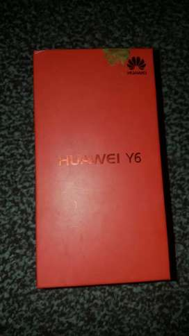 Huawei Y6 for sale in good condition