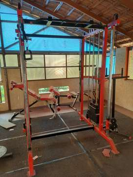 Full Home Gym set including Eliptical cycle