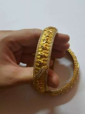 An antique looking bangle set