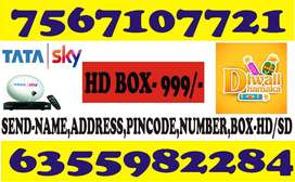 TATASKY AIRTEL DISH TV DTH DIWALI OFFER 70% DISCOUNT