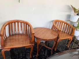 Jual kursi teras beserta meja