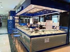 Jual perabot counter etalase display toko perhiasan