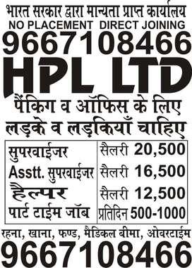 HPL LTD OPENINGS