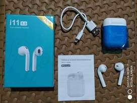 Headset I11S Tws Bluetooth Mini Wireless Earphone Dual Headphone