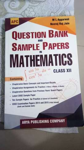 Sample Papers - Mathematics - Class XII - M L Aggarwal - 50% OFF
