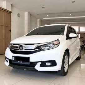 Mobilio E CVT A/T Facelift 2017 Putih Mulus Terawat
