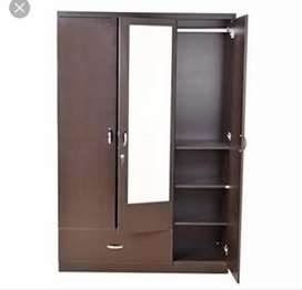 Brand new wardrobe of 3 door, 2 door wardrobe at very reasonable price