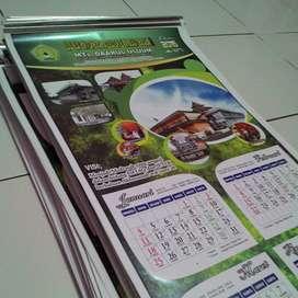 Cetak Kalender Dinding dan Kalender Meja Murah di Malang