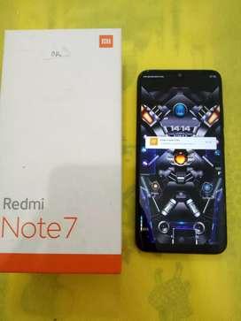 REDMI NOTE 7 4/64GB HITAM
