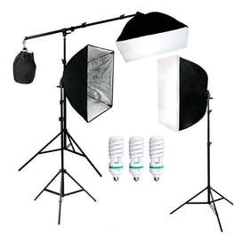 Photography Foto Studio Lightning Kit Youtube Vlog