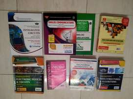 Second year E&TC engineering books