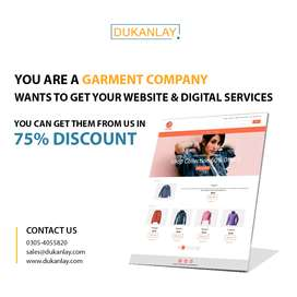 Get your eCommerce Store at 75% Discount.