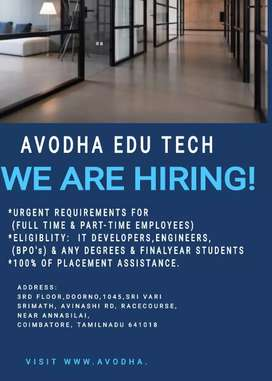 We are hiring for IT Devalapars