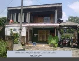 Dijual Rumah Dusun Gondang Plosoklaten Kediri