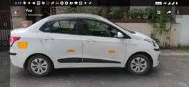 Hyundai xcent petrol/cng