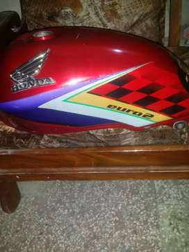 Honda 125 tenki tapay and tail