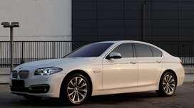 BMW 520D White Facelift 2014