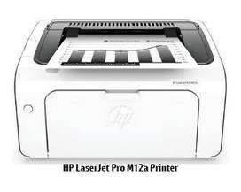 HP LaserJet Pro M12 Printer new and cartoon pack