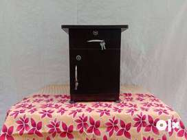 Bed side wooden table available