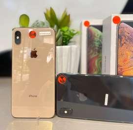 Iphone Xs Max 64Gb (ORI) Mulus Fullset GARANSI s/d 3 BULAN