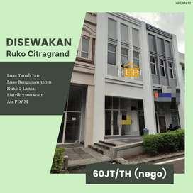 Disewakan Ruko Lokasi Bagus Citragrand Sambiroto Tembalang Semarang