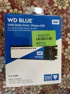 WD BLUE SSD 250 GB M.2 SLOT