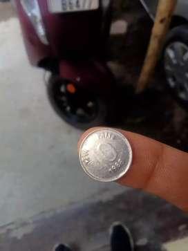 1988 10 Paise Mini Rare coin