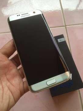 Samsung S7 edge silver resmi sein dual fullset mulus bisa tt