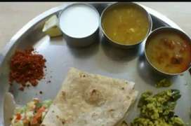 Maushi pahije chapati and jevan banawanyasathi