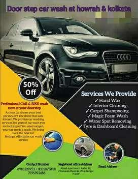 Car washing at your doorstep