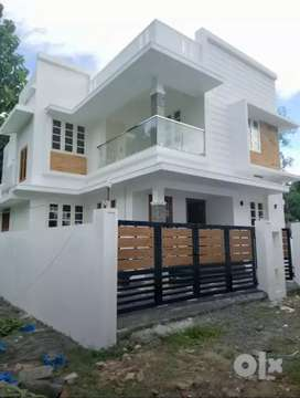 New build 3 bhk 1350 sqft house at varapuzha near thirumuppam