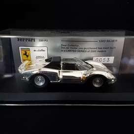 Ferrari F330 P2 Limited 2000pcs 1/43 Silver Plated by Best Models