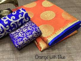 Women Chanderi Silk Cotton sarees collections